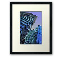 """City nightlife"" by Tim Constable  Framed Print"