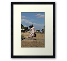 "Zoe Eve ""Nearly Home"" Framed Print"