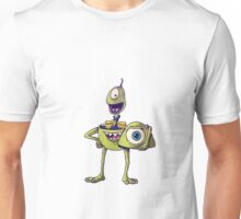 Icons Unmasked - Monsters Inc/ Lilo and Stitch Unisex T-Shirt