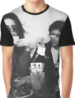 Kendall Jenner & Kylie Jenner Graphic T-Shirt