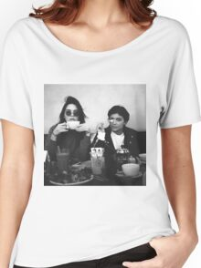 Kendall Jenner & Kylie Jenner Women's Relaxed Fit T-Shirt