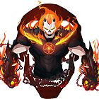 Iron Man X Ghost Rider by Shamserg