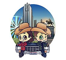 Winchesters in Houston Photographic Print