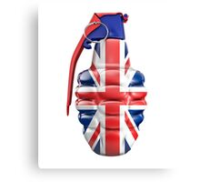 British grenade Canvas Print