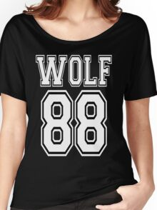 ♥♫WOLF 88-Splendiferous K-Pop EXO Clothing & Cases & Stickers & Bags & Home Decor & Stationary♪♥ Women's Relaxed Fit T-Shirt