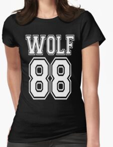 ♥♫WOLF 88-Splendiferous K-Pop EXO Clothing & Cases & Stickers & Bags & Home Decor & Stationary♪♥ Womens Fitted T-Shirt