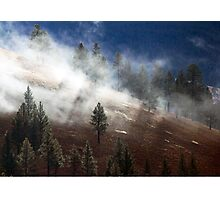 Mountainside Mist Photographic Print