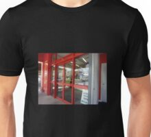 *Red Doors & Reflection - Creswick, Vic. Aust.8 Unisex T-Shirt