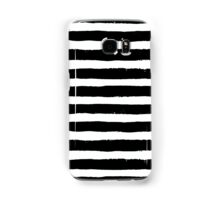 Vector Brush Strokes Black White Pattern Samsung Galaxy Case/Skin