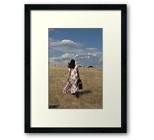 """Zoe Eve """"A long Way Home"""" Framed Print"""