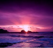 Glowing North Cornish Sunsets by Elliot Tratt