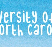 University of North Carolina - Watercolor Sticker