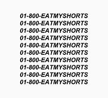 01-800-EATMYSHORTS black  Unisex T-Shirt