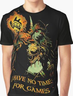 No Time for Games Graphic T-Shirt