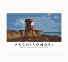 Archirondel (Railway Poster) One Piece - Short Sleeve