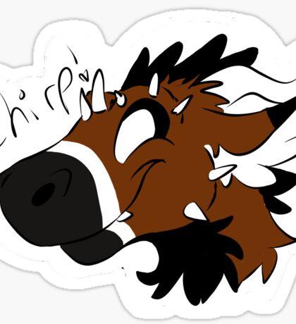 Telephone Chirp! Sticker