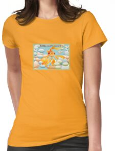 Cod, You Scared the Carp Out of ME! Womens Fitted T-Shirt