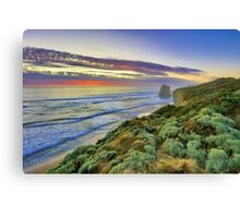 Sunset and the 12 Apostles are asleep.... Canvas Print