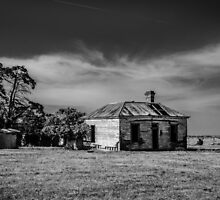 Deserted House by Christine  Wilson Photography