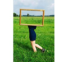 Surrealistic picture frame Photographic Print