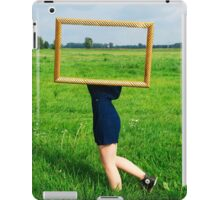 Surrealistic picture frame iPad Case/Skin