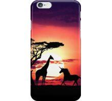 Joraffe & The Unicorn iPhone Case/Skin