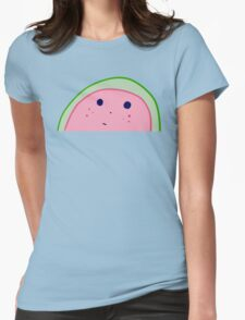 WATERMELON BLUES Womens Fitted T-Shirt
