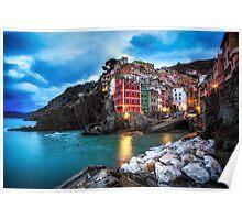Twilight in Riomaggiore Poster