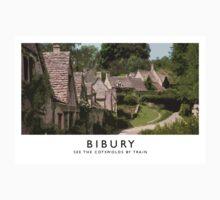 Bibury (Railway Poster) Kids Tee