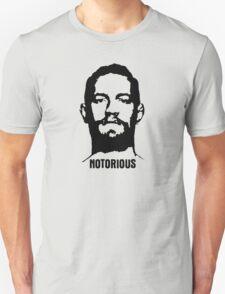 Notorious McGregor (Mugshot) T-Shirt