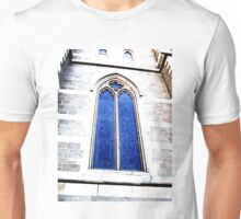 Arched window of a church in Melbourne. Unisex T-Shirt