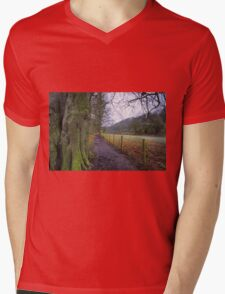 Easby Walks Mens V-Neck T-Shirt