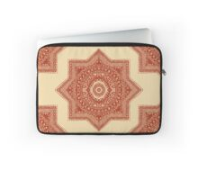 The Red Moroccan Pattern Laptop Sleeve