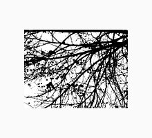 Black & white tree, digitally enhanced,  Unisex T-Shirt