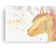 Splatter Horse Metal Print