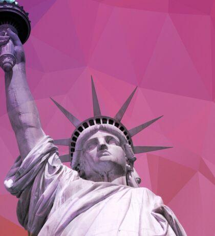 Statue of liberty New York, America Sticker