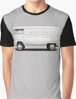 1949 Volkswagen Type 2 Prototype - Silver White Graphic T-Shirt