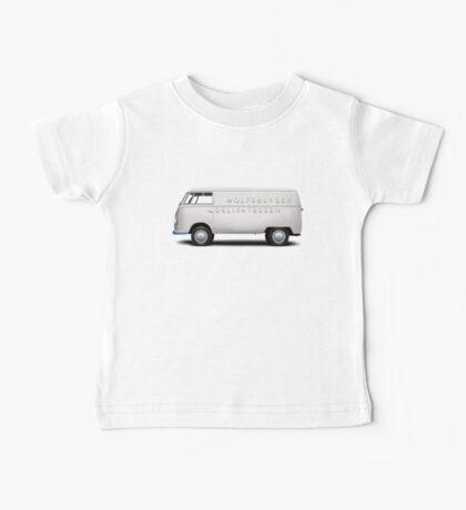 1949 Volkswagen Type 2 Prototype - Silver White Baby Tee