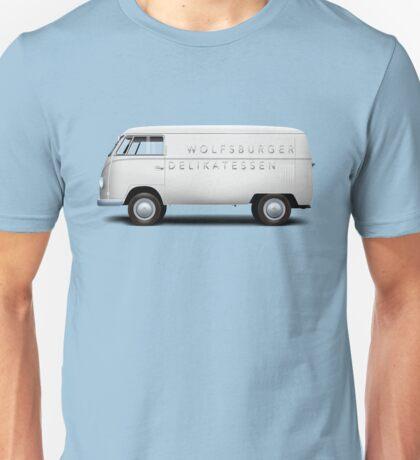 1949 Volkswagen Type 2 Prototype - Silver White Unisex T-Shirt