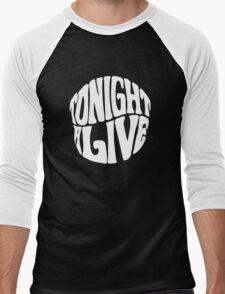 Tonight alive white black rock band Men's Baseball ¾ T-Shirt