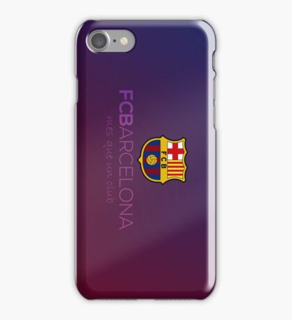 FC Barcelona  iPhone Case/Skin