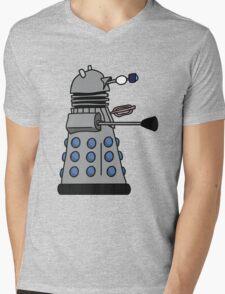 Silly Robot Mens V-Neck T-Shirt
