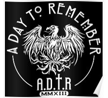 A day to remember white Poster