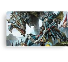 Monster hunter Canvas Print