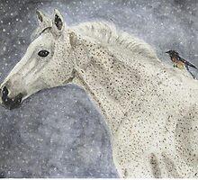 Winter Rider by AngieDavies