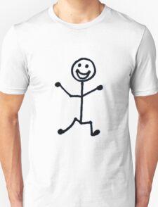Happy Stick Man T-Shirt