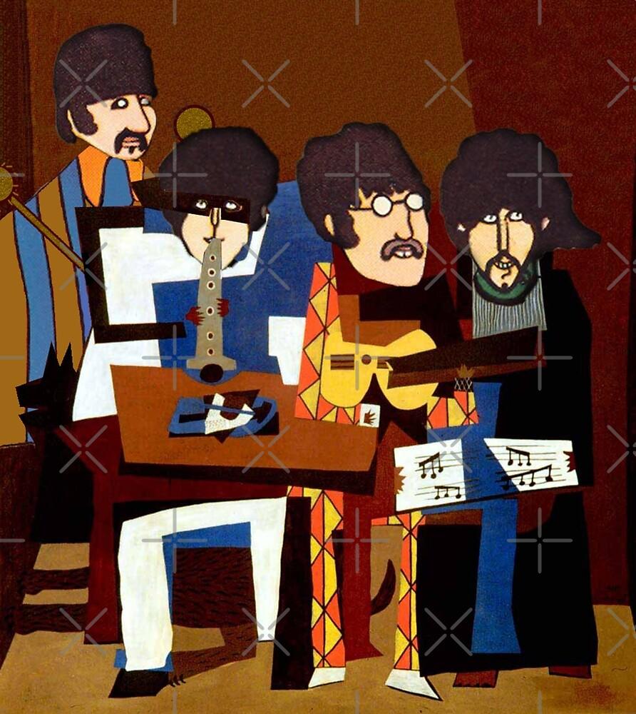 The Four Musicians by VenusOak