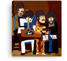 The Four Musicians Canvas Print