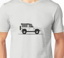 A Graphical Interpretation of the Defender 90 Station Wagon 2,000,000 Unisex T-Shirt