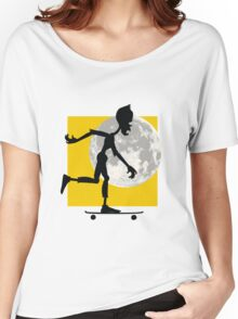 Friendly Zombie - longboard Women's Relaxed Fit T-Shirt